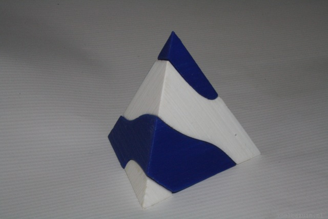 Two part tetrahedron