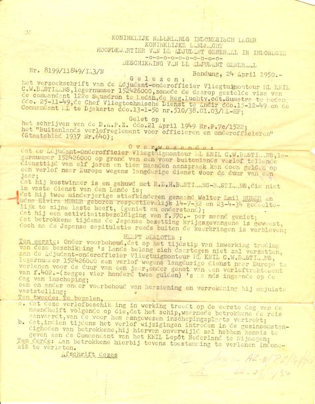 Verlofregeling CWB 1950 1 640