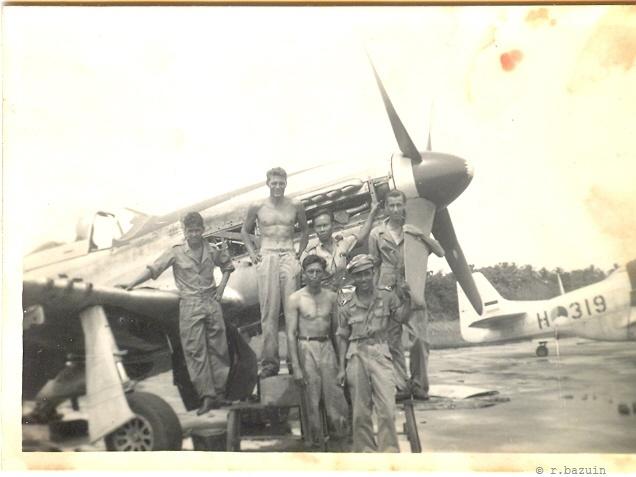 P51 with tech crew