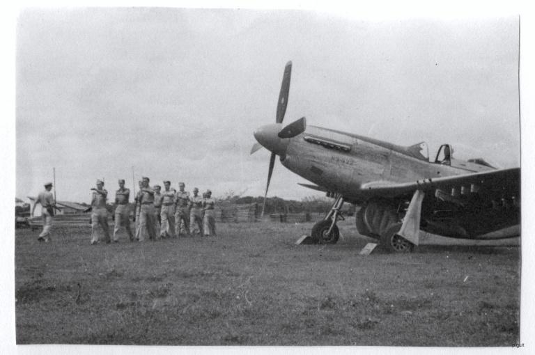 P-51D 122sqn Medan 1946