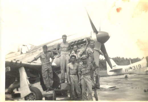 P51 with tech crew