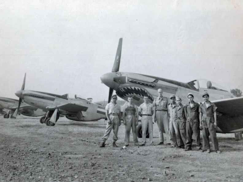 P-51 N3-615 of 121 Squadron