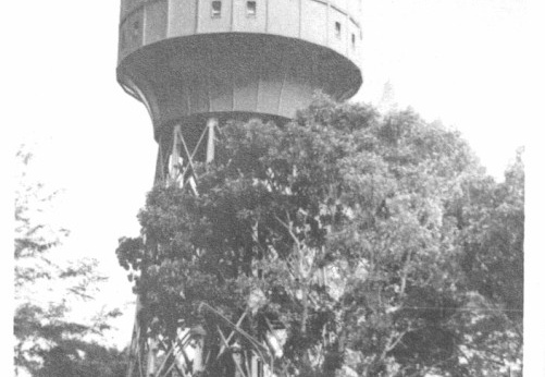 Tirtanadi Water tower in Medan