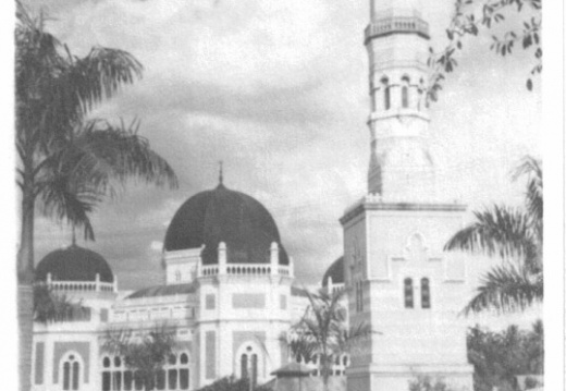 Grand mosque in Medan