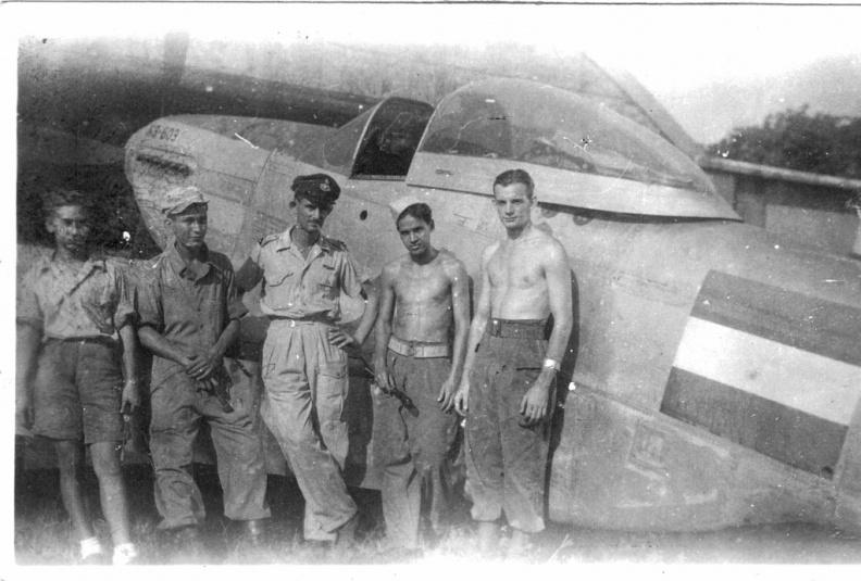 P-51 N3-603 Tjililitan 1946